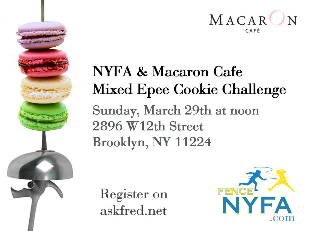 NY Fencing Academy & Macaron Cafe Epee Challenge