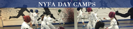 NYFA Fencing Day Camps