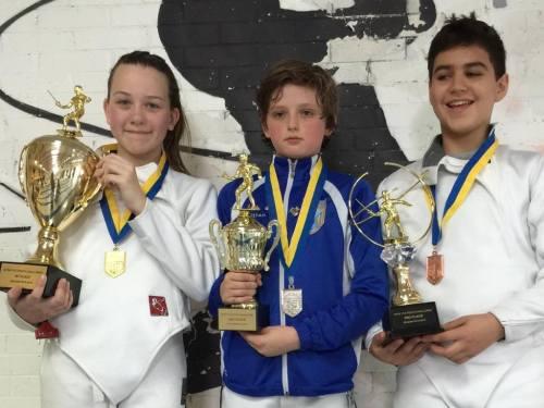 Jackie Khrol, Ethan Kushnerik, Peter Kambeseles - Y12 NYFA Youth Championships
