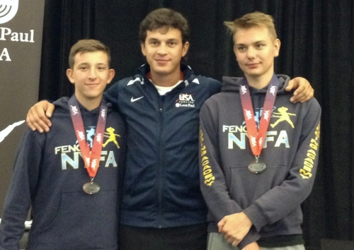 Nathan Vaysberg 6th, Anton Chmut 7th Y14 Summer Nationals San Jose