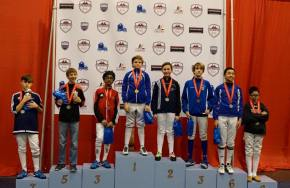 Ethan Kushnerik - Gold in Y10 at 2015 Atlanta SYC