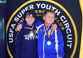 NYFA medalists at Cobra RYC