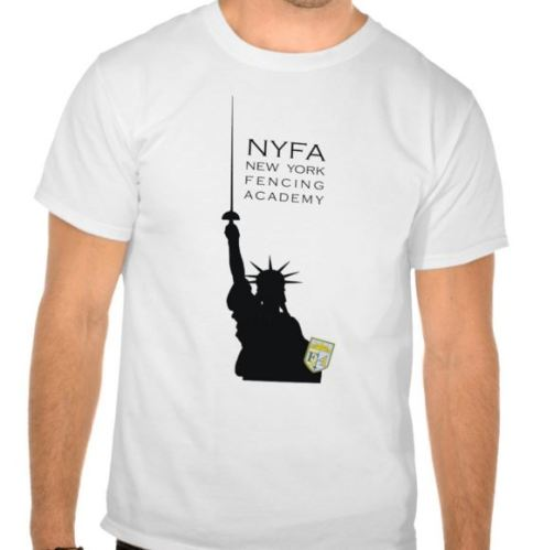 NYFA Statue of Liberty tee shirt