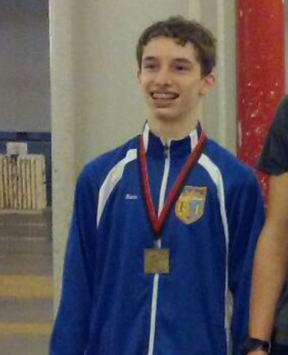 Sam Bekker 1st at Fencers Club Junior Mens Epee