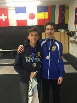 Nathan Vaysberg and Sam Bekker Lilov RJCC