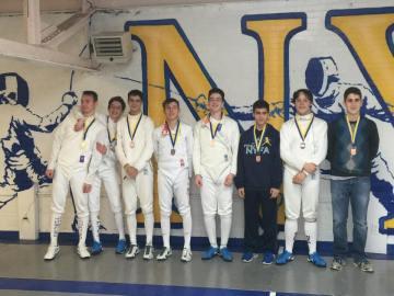 NYFA Cadet podium