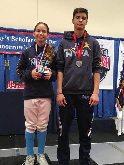 Anna And Alan Temiryaev New York Fencing Academy