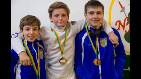 Ethan K. Gold, Daniel P Bronze, Mitchel B 5th Y12 NJFA RYC 2016