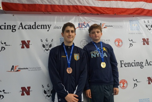 Joshua Shuster - Bronze, Ethan Kushnerik - Gold in Y14  at Lilov RYC