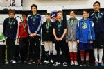 NYFA fencing - Gold and 5th SYC medals
