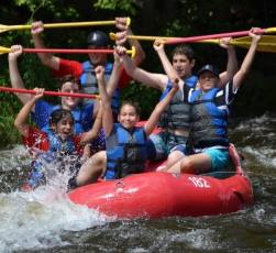NYFA Fencing Camp Rafting 2016