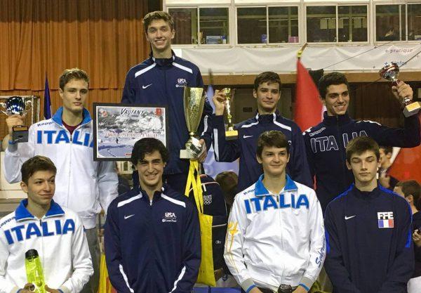 Grenoble Cadet Cup Amp Cobra Syc Medals New York Fencing