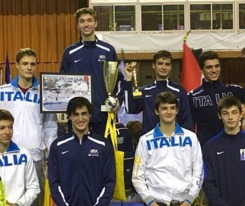 Alan Temiryaev Bronze Cadet European Cup Grenoble