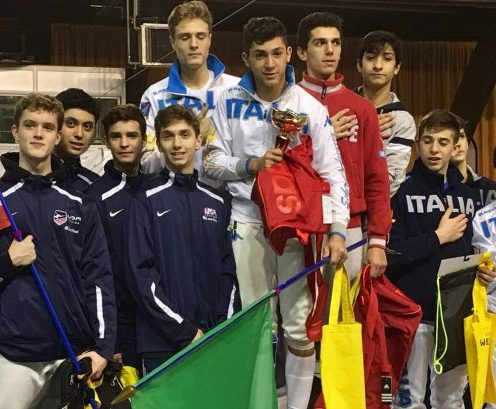 Alan Temiryaev Silver Cadet Team Grenoble