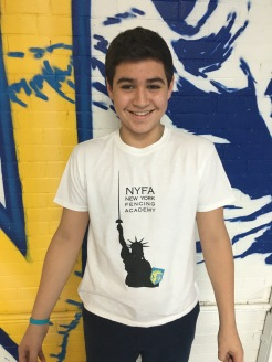 2015-16 NYFA Member T-shirt (Statue of Liberty)