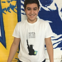 2015-16 NYFA Member T-shirt (Statue of Liberty)