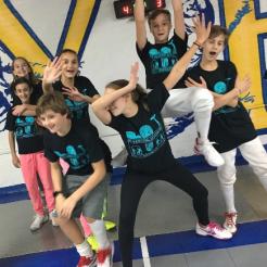 NYFA Kids like their new shirts:)