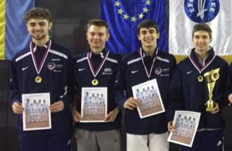 Anton Chmut with Gold medal Team USA at Bratislava