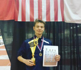 Anton Chmut - Gold in Team at Bratislava Cadet Cup