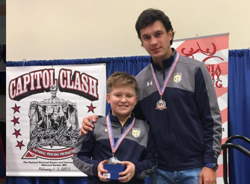 Ian Goldfine - Gold in Y10 Capitol Clash SYC w/Coach Mokretsov
