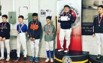 Ian Goldfine Gold, David Pavlenishvili Bronze Y12