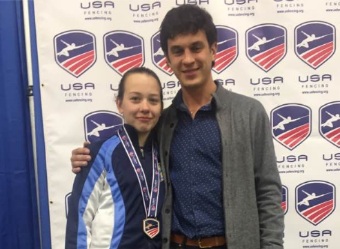 Jaclyn Khrol - 7th in Juniors at January NAC w/Coach Mokretsov
