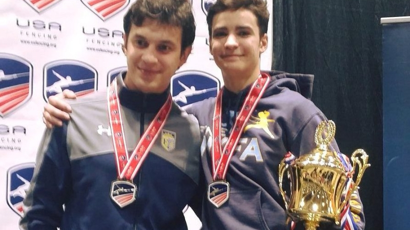 NEWS12: BEST OF BROOKLYN: JUNIOR OLYMPIC FENCER