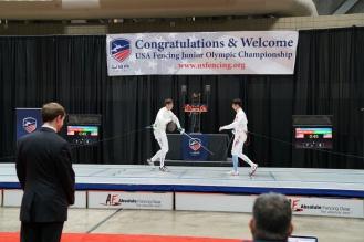 NY Fencing at Junior Olympics