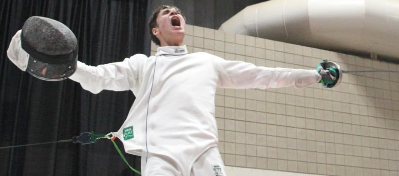 For Immediate Release: 16-YEAR-OLD BROOKLYN FENCER WINS JUNIOR OLYMPIC NATIONALCHAMPIONSHIP