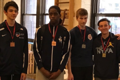 Nathan Vaysberg Gold NYAC Mercury Cup & Gold FC Junior Mens in 1 day