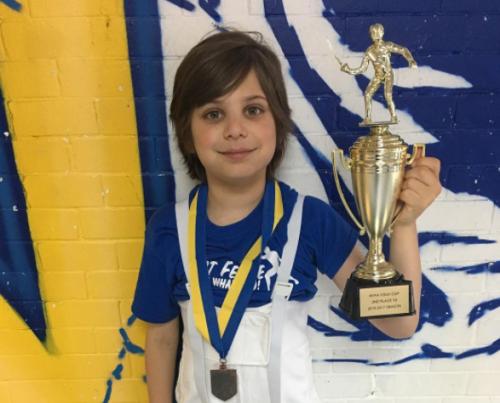 NYFA Youth Cup Season Y8 2nd place Ethan Zaydman