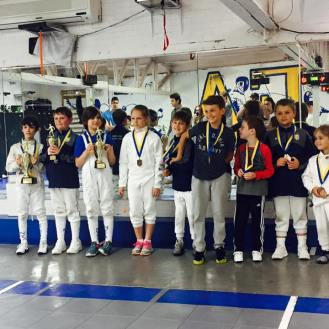 NYFA Youth Cup7 Y8 Podium