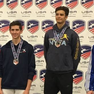 Alan Temiryaev Gold in Cadets at 2017 Summer Nationals