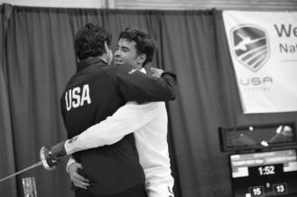 Alan Temiryaev and Coach Misha Mokretsov Summer Nationals 2017 pc Camille Simmons