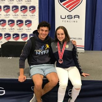 Melanie Dolgonos Bronze Div II 2017 SN with Coach Mokretsov