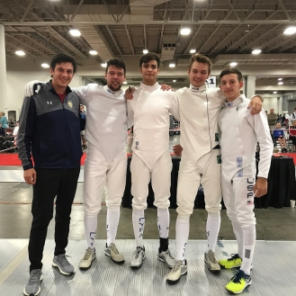 NYFA Senior Team 6th 2017 SN (Anton Chmut, Nathan Vaysberg, Yaroslav Ponomarenko and Alan Temiryaev)