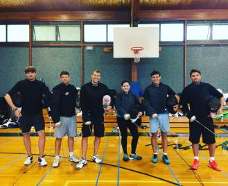 NYFA Camp at Storm King coaching crew