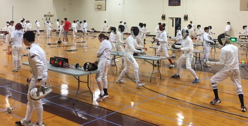 BIGGEST & BEST SUMMER EPEE FENCING CAMP!