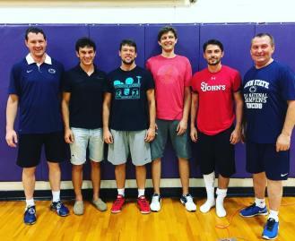 NYFA Camp at Perk Coaching Team