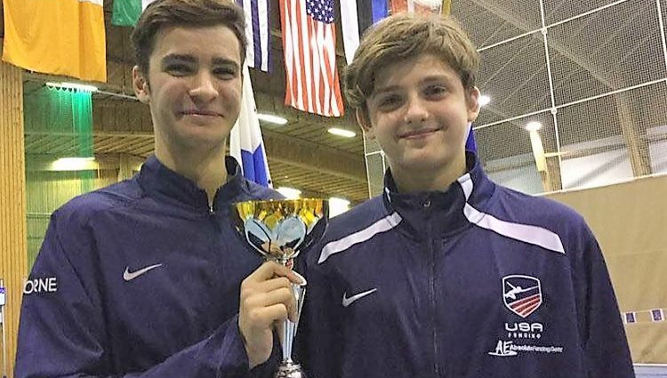 For Immediate Release: FIVE BROOKLYN TEENS COMPETE IN FINLAND FENCING WORLD CUP, AIM FOR WORLDCHAMPIONSHIPS