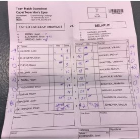 Ethan Kushnerik scores 21 points in 3 minutes in team event against Belarus