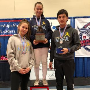 Caralina Khrol Gold and Anna Temiryaev 6th Y12 Capitol Clash SYC