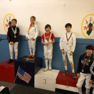 Dylan Kats Gold Ethan Zaydman Bronze Julian Brodsky Top 8 Y10 NJFA RYC