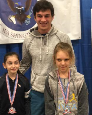 Liza Zigalo Bronze and Alexandra Rakhovsky 6th Y10 Capitol Clash SYC
