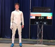 Sam Bekker gold Epee Classification January NAC