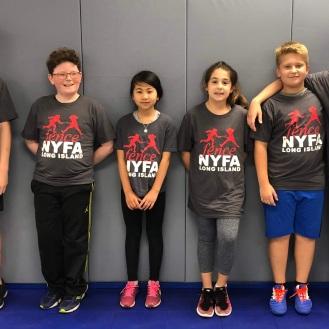 2018 NYFA LI Club shirts