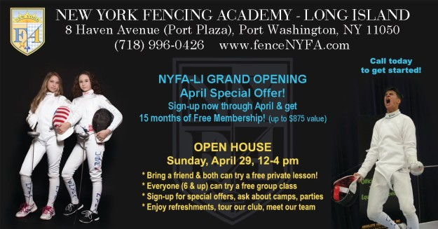 NYFA-LI Open House FB