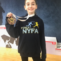 Elizabeth Zigalo - 6th in Y10 Mission SYC 2018