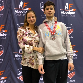 Alan Temiryaev top 8 Div 1 April NAC