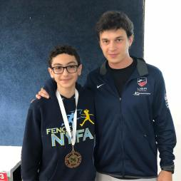 Mitchell Pozovskiy -8th in Y12 Coach Mokretsov Mission SYC